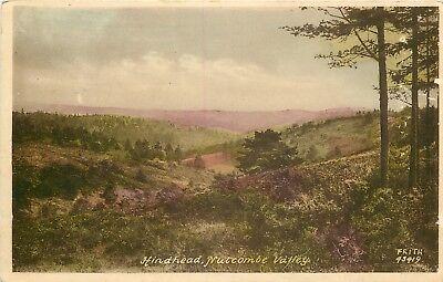 s09549 Nutcombe Valley, Hindhead, Surrey, England postcard unposted
