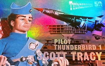 THUNDERBIRDS 50 YEARS - FOIL CHASE CARD - F1 - SCOTT TRACY - Unstoppable Cards
