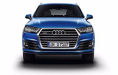 Für Audi Q7 ab 2015 paßgenaue Vordersitzbezüge im Design EXCLUSIVE in SCHWARZ gebraucht kaufen  Görlitz