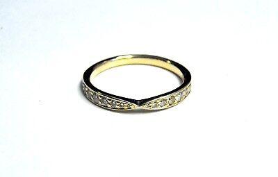 Tiffany & Co Harmony 18k Rose Gold & Diamond Wedding Band Size 4.5 (Tiffany Harmony Gold)