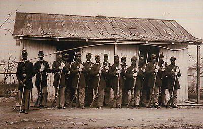 107Th Us Colored Troops  African American  Black Soldiers     Civil War Postcard