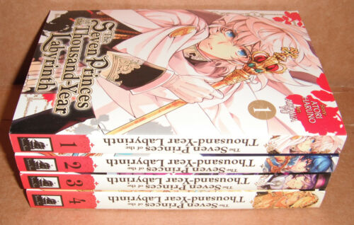 The Seven Princes of the Thousand Year Labyrinth Vol. 1,2,3,4 Manga Set English