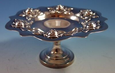 Aztec Rose by Sanborns Mexican Mexico Sterling Silver Dessert Bowl Birds #1828