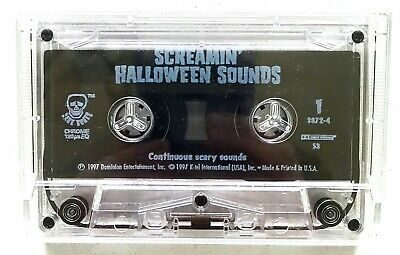 Screamin' Halloween Sounds Continuous Scary Cassette Tape Tested ](Halloween Cassette Tapes)