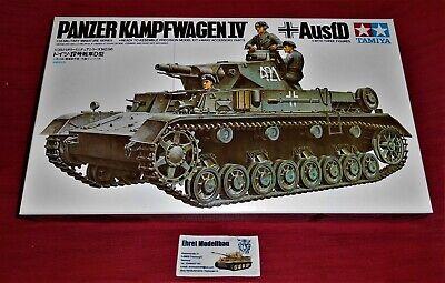 WWII german Tank Panzer IV Sd.Kfz.161 Ausf.D Pz.Kpfw.IV in 1:35 Tamiya 35096