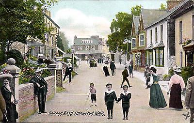 Llanwrtyd Wells. Dolcoed Road by Williams, Llandilo.
