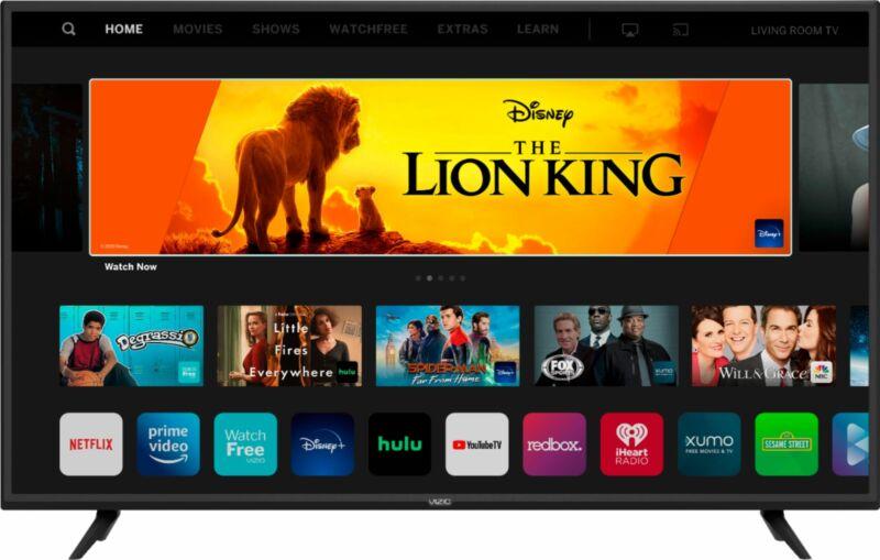 "Open-Box Excellent: 24"" Class D-Series LED Full HD Smart VIZIO SmartCast TV"