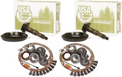 """2003-2010 Dodge Ram 2500 3500 AAM 11.5"""" 9.25"""" 4.56 Ring and Pinion USA Gear Pkg"""