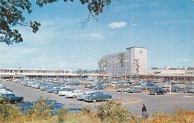 Cross County Shopping Center Vtg Cars Parking Lot Scene Yonkers,NY 50's (Cross County Center)