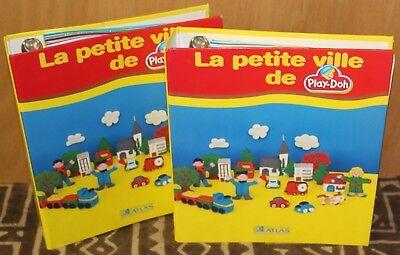 """2001 ✤ PLAY-DOH ✤ 24 Fascicules en 2 classeurs ✤ """"La Petite Ville"""""""