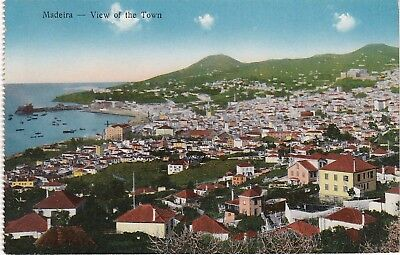 General View Over The Town Looking North, MADIERA, Early View