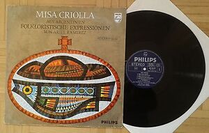 U669 RAMIREZ MISA CRIOLLA LOS FRONTERIZOS PHILIPS STEREO - <span itemprop=availableAtOrFrom>Graz-Puntigam, Österreich</span> - U669 RAMIREZ MISA CRIOLLA LOS FRONTERIZOS PHILIPS STEREO - Graz-Puntigam, Österreich