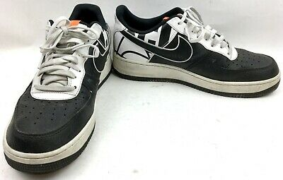 Nike Air Force 1 '07 Lv8 Black/White Basketball Shoes Size: US 9.5