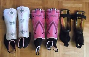 Youth Shin Guards by Nike, Voit & Striker for soccer