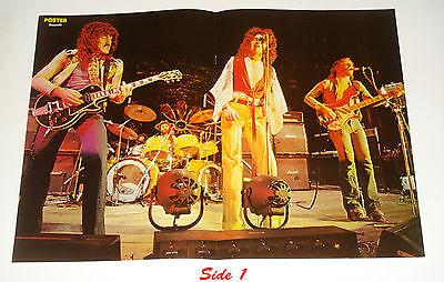 1977 Nazareth Dan McCafferty Manny Poster 16x23 from Finland Magazine Never Hung