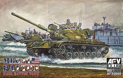 AFV Club 1/35 AF35060 US M60A1 Patton Main Batte Tank