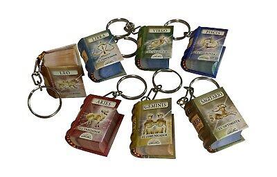 Geminis Signo zodiaco miniature book llavero key chain spanish easy to read 300p