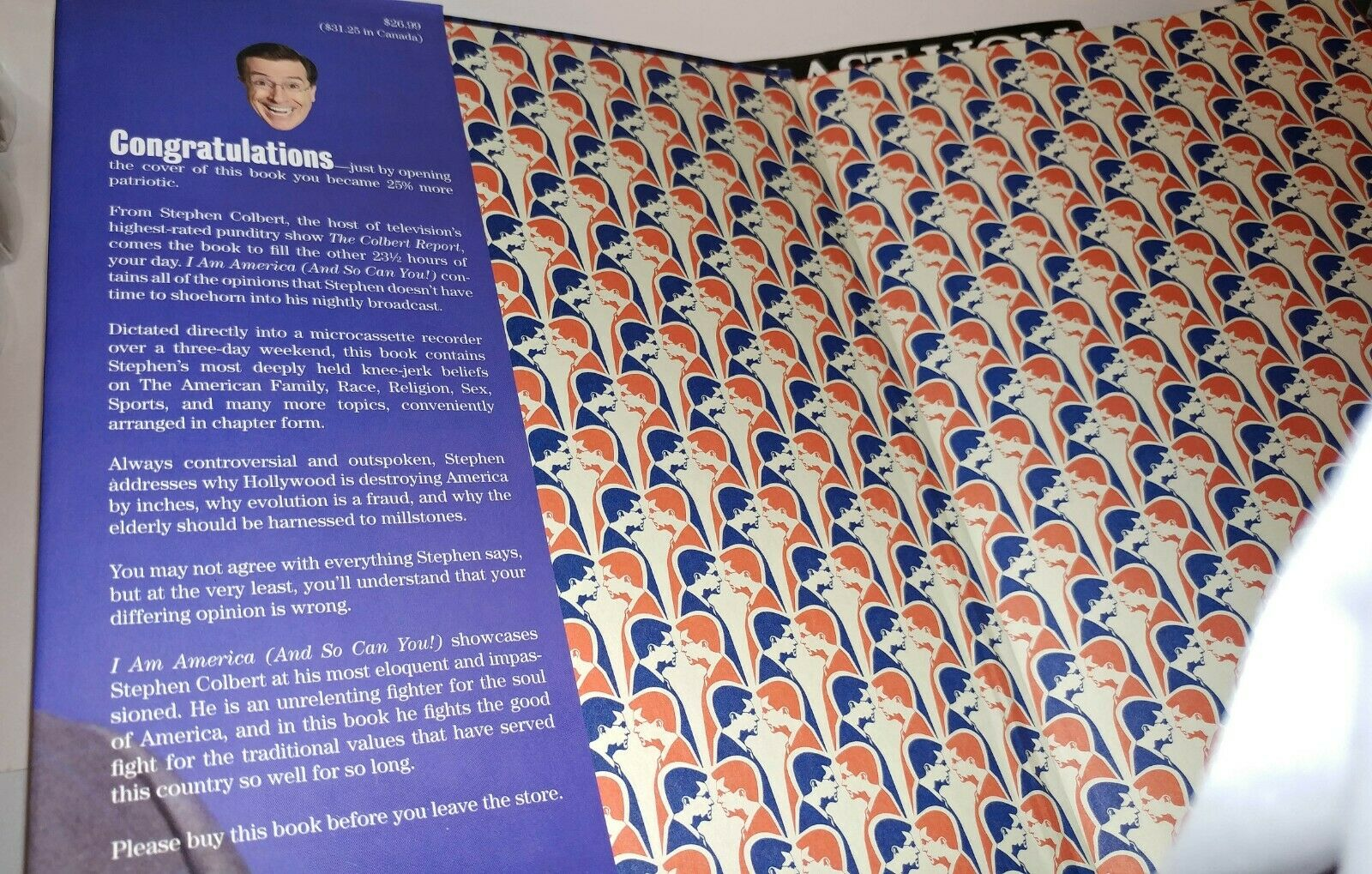 Stephen Colbert - I Am America And So Can You Hardcover First Edition. - $9.95