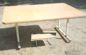 """37"""" High 27"""" Low 6.5 x 4 ft  WORK TABLE"""