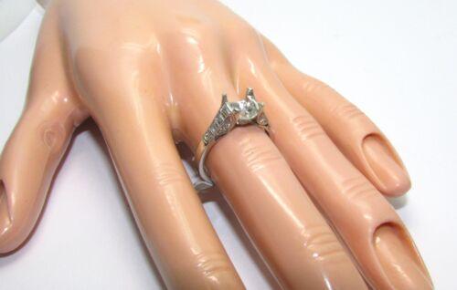 Tacori Platinum 2577rd Setting 0.70 Ct Diamonds - Size 6.5us - Retail $5,460.00