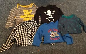 boys 12-18 month tops