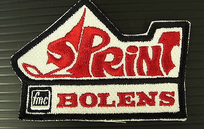 New Vintage Embroidered Sprint Bolens Snowmobile Patch  (NOS)
