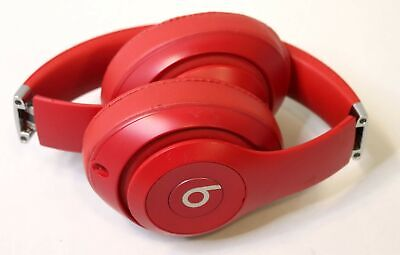 BEATS BY DR. DRE STUDIO3 WIRELESS OVER-EAR BLUETOOTH HEADPHONES - RED