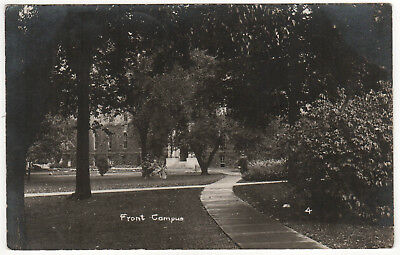 7faed99a7 1900s SMITH COLLEGE RPPC RP Real Photo Postcard NORTHAMPTON Massachusetts  CAMPUS