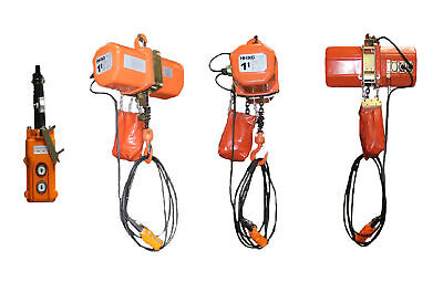 2000 Lb 1 Ton 230v Hd Super 2000 Electric Chain Crane Hoist Crane Lift Winch