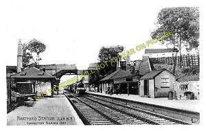Hartford Railway Station Photo. Acton Bridge - Winsford. Crewe Line. L&NWR