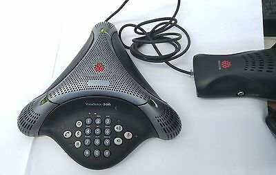Polycom Voicestation 300 Analog Conference Phone 2201-17910-001 With Wall Module