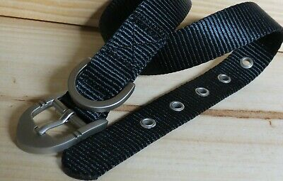 TOP PAW Dog Collar BLACK  New! MEDIUM 16