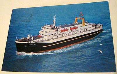 Ship Ferry MV Norwave SP1418 J Arthur Dixon - posted