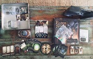 Elder Sign revised printing board game in perfect condition