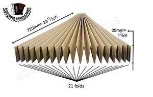 Accordion Bellows Cardboard Card Stock Accordion Bellows Repair Parts 35mm
