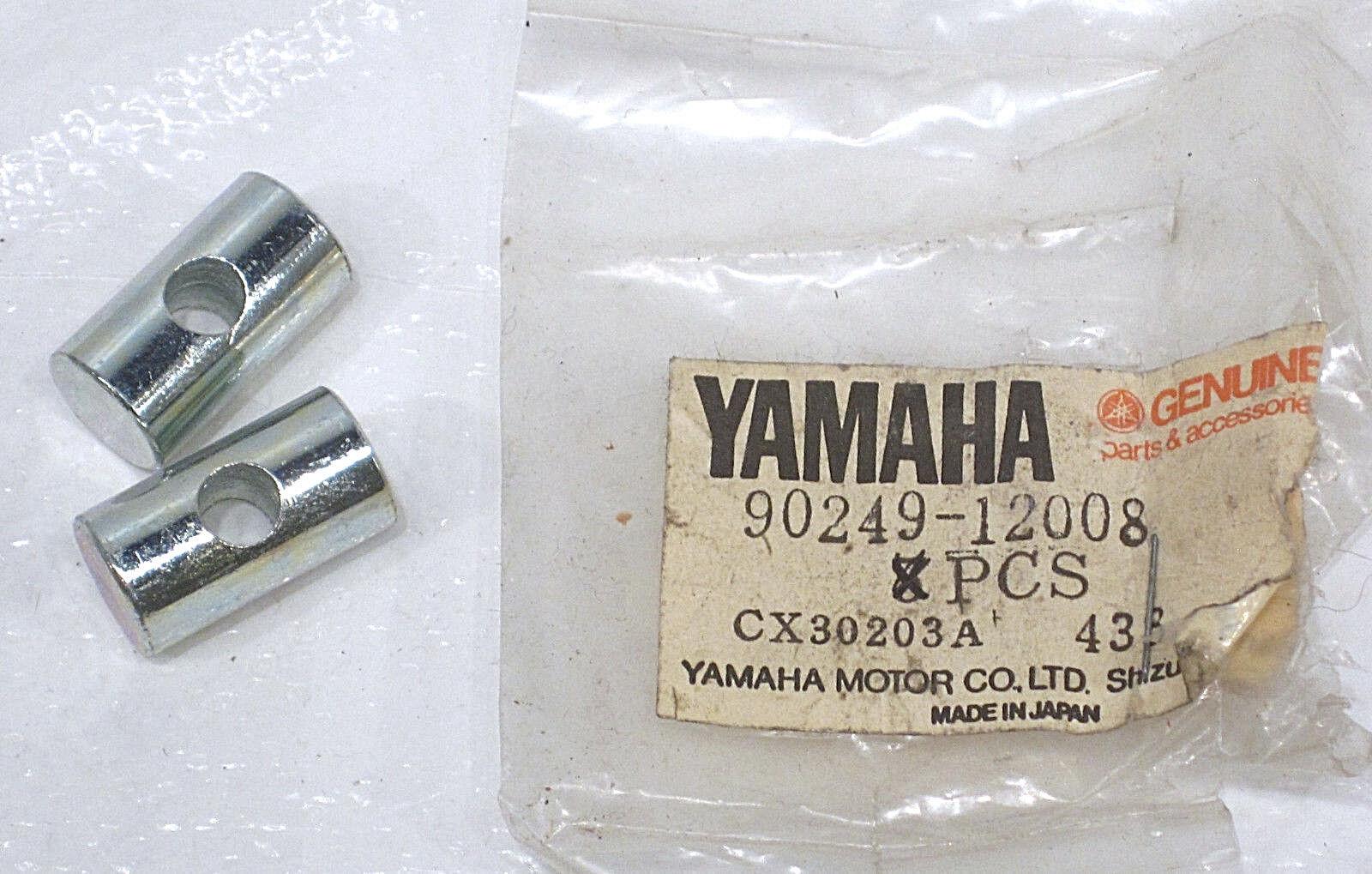 1976-1981 Genuine Yamaha XT500 Brake Rod Pin (2) 90249-12008 NOS