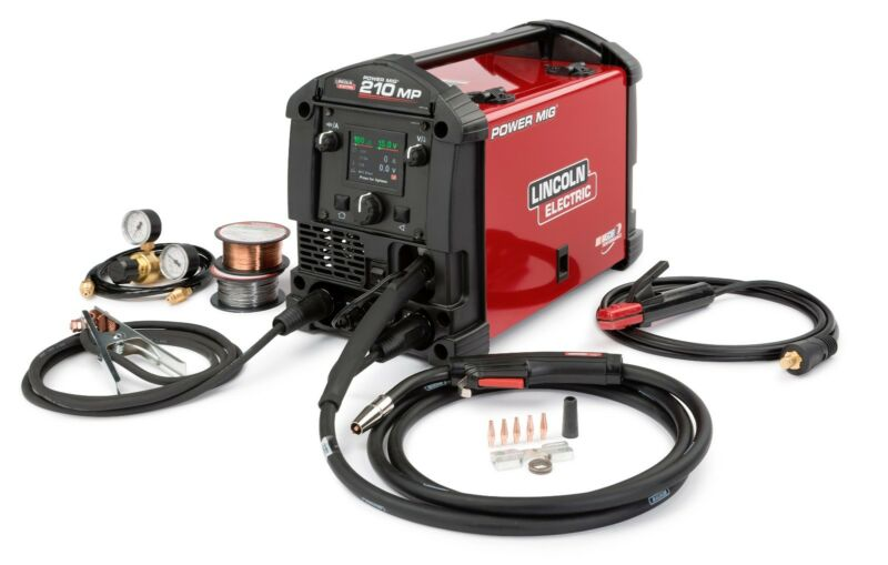 Lincoln Power MIG 210 MP Multi-Process Welder K3963-1