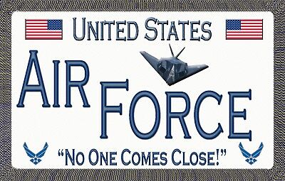 Air Force Car Magnets (Air Force - Magnetic Car Sign - 6 inches X 3.75)