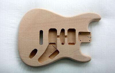 STRAT BODY / Alder / UNFINISHED / SANDED / Stratocaster- Fits Fender