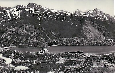 Grimsel Passhöhe, Totensee, Switzerland, Grimsel Pass, Schweiz, Lake -- Postcard