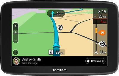 TomTom - GO COMFORT 6 GPS with Built-In Bluetooth, Lifetime Map Updates and ...