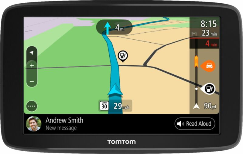 """TomTom - GO COMFORT 6"""" GPS with Built-In Bluetooth, Lifetime Map Updates and ..."""