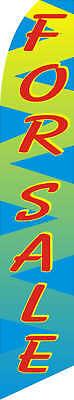 For Sale Custom Designed Advertising Sign Swooper Banner Flag Only Neoplex