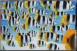 Oil painting large tropical fish beach sea art Rosebud Mornington Peninsula Preview