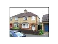 Unfurnished 3 bed house with enclosed rear garden and garage in quiet street near Science Park