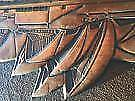 Very retro copper wall art  Sydney opera house 25 x 35 $35