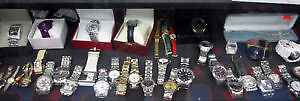 Large Selection of Designer Watches~Hugo Boss, Perry Ellis Gues