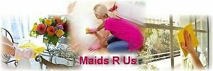 Maids R Us - AFFORDABLE - Professional Cleaning and Maid Service