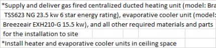 Ducted Heating and Evaporative Cooling System