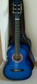 Redwood Guitar 3/4 Size with bag